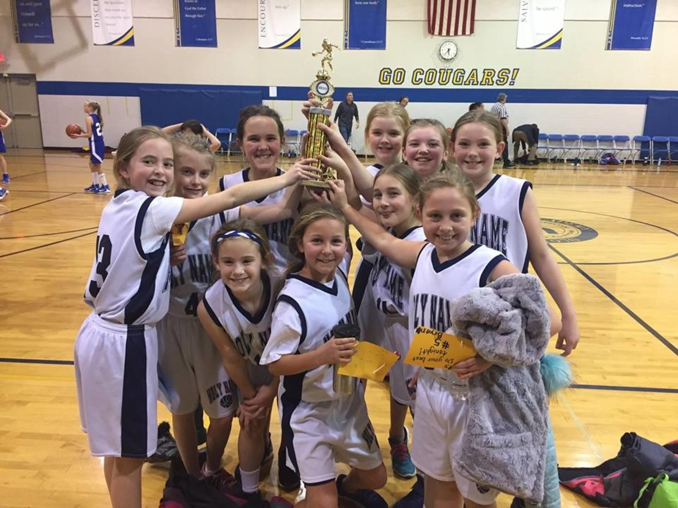 Girls Basketball SSYO Champs