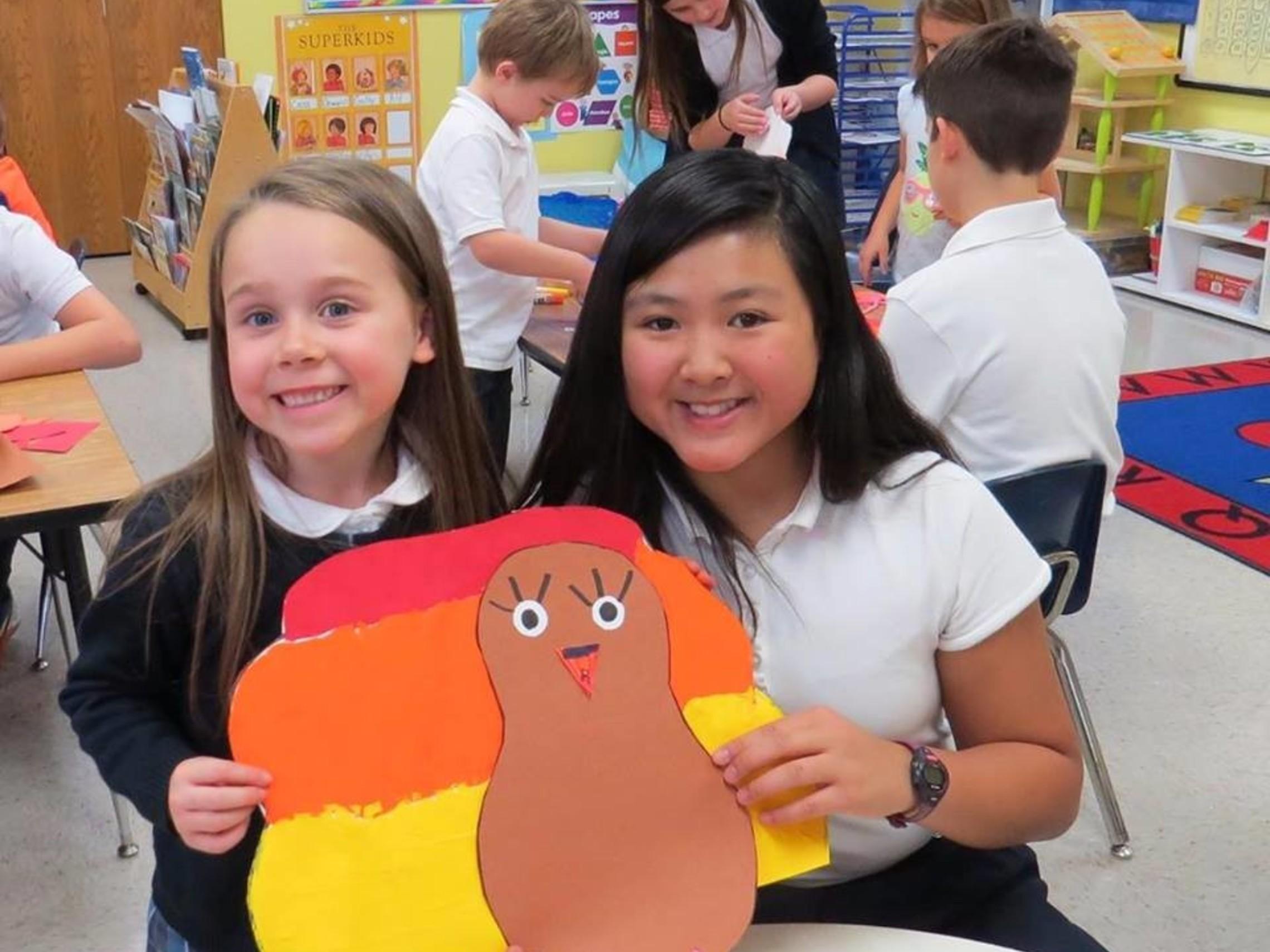 6th Grade and Kindergarten Buddies